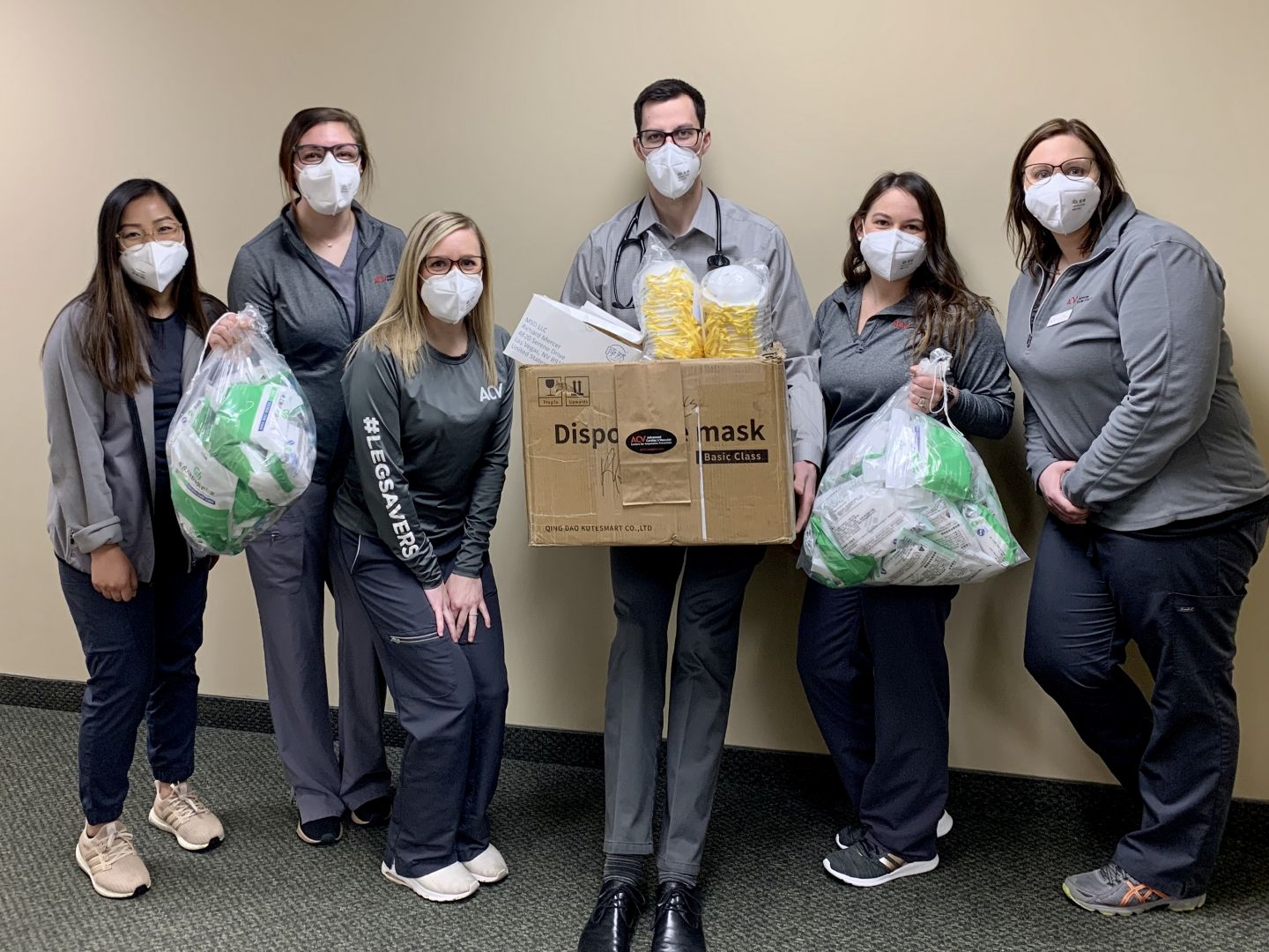 ACV Centers Donates 5,400 Masks as PPE to Hospitals   and Patients in Grand Rapids and Lansing